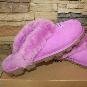 UGG COQUETTE Shearling Slide Slippers NEW!
